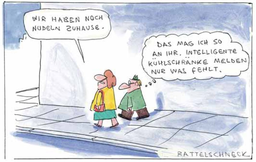 Cartoon/ Rattelschneck